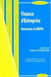Finance D'Entreprise - Intérieur - Format classique
