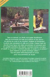 Peches pratiques en eau douce - 4ème de couverture - Format classique