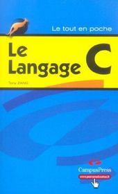 Le Langage C - Intérieur - Format classique