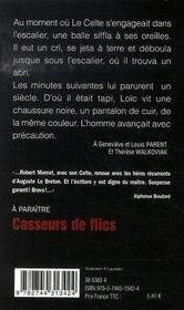 Le Celte T.46 ; Kidnapping - 4ème de couverture - Format classique