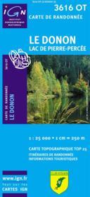 Le Donon ; lac de Pierre-Percée ; 3616 OT - Couverture - Format classique
