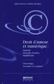 Droit d'auteur et numerique - Intérieur - Format classique