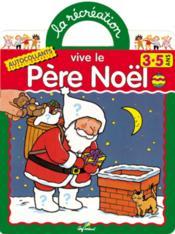 Vive le père Noël - Couverture - Format classique