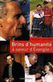 Brins d'humanité à saveur d'évangile ! - Intérieur - Format classique