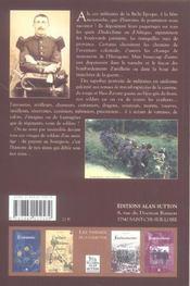 Nos beaux militaires - 4ème de couverture - Format classique