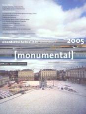 MONUMENTAL ; dossier Nancy (édition 2005) - Couverture - Format classique