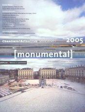 MONUMENTAL ; dossier Nancy (édition 2005) - Intérieur - Format classique