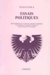 Essais politiques - Couverture - Format classique