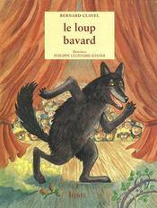 Le loup bavard - Couverture - Format classique