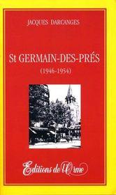 Saint germain-des-prés (1946-1954) - Intérieur - Format classique