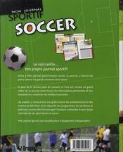 Soccer - 4ème de couverture - Format classique