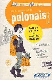 Guides de conversation ; polonais de poche - Couverture - Format classique