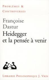 Heidegger et la pensée à venir - Couverture - Format classique