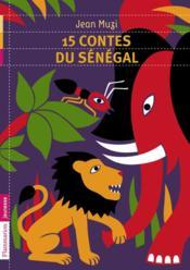 15 contes du Sénégal - Couverture - Format classique