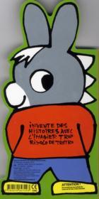 L'imagier rigolo de Trotro - 4ème de couverture - Format classique