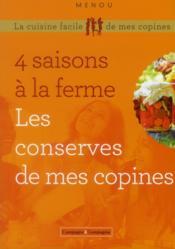 Les 4 saisons en conserve ; les bocaux de la ferme - Couverture - Format classique