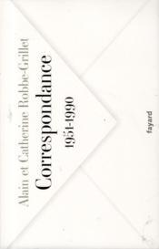 Correspondance, 1951-1990 - Couverture - Format classique