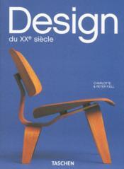 Design du XXe siècle - Couverture - Format classique