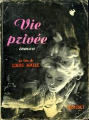 Vie Privee. - Couverture - Format classique