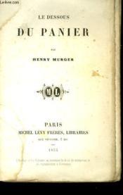 Le Dessous Du Panier. - Couverture - Format classique