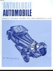 L'Anthologie De L'Automobile N°14 - Couverture - Format classique