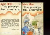 Cinq Printemps Dans La Tourmente - Couverture - Format classique