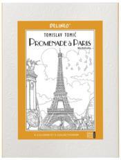Promenade à Paris ; à colorier et à collectionner - Couverture - Format classique
