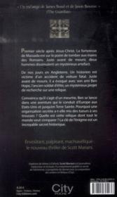 Enigma - 4ème de couverture - Format classique