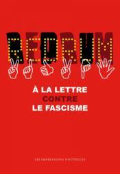 Redrum ; à la lettre contre le fascisme - Couverture - Format classique