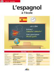 L'espagnol à l'école - Couverture - Format classique