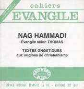 Sce-58 nag hammadi - evangile selon thomas - Couverture - Format classique