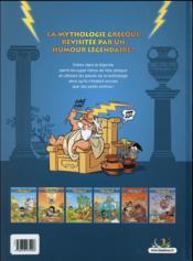 Les Petits Mythos T.3 ; les Titans sont durs - 4ème de couverture - Format classique