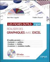 Réaliser des graphiques avec Excel - Couverture - Format classique
