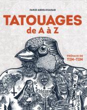 Tatouages de A à Z - Couverture - Format classique