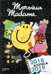 Les Monsieur Madame ; agenda (édition 2018/2019) - Couverture - Format classique