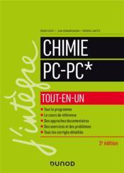 Chimie tout-en-un PC-PC* (3e édition) - Couverture - Format classique