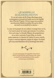 Blue pearl - 4ème de couverture - Format classique