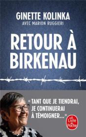 Retour à Birkenau - Couverture - Format classique