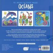 Mes tableaux en peinture magique ; océan - 4ème de couverture - Format classique