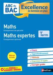 ABC DU BAC EXCELLENCE T.4 ; mathématiques +, mathématiques expertes ; terminale (édition 2020) - Couverture - Format classique