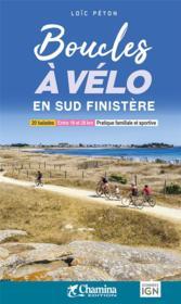 Boucles à vélo en sud Finistère - Couverture - Format classique