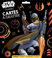 Les ateliers Disney ; Star Wars ; cartes à gratter - Couverture - Format classique