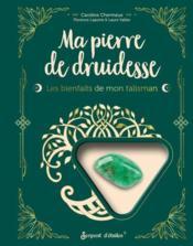 Ma pierre de druidesse : les bienfaits de mon talisman - Couverture - Format classique