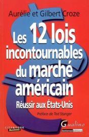 12 lois incontournables du marché américain - Couverture - Format classique