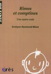 Rimes et comptines - Couverture - Format classique