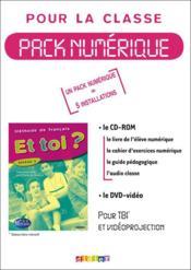 Et Toi Niveau 3 Pack Numerique 5 Licences Pour La Classe - Couverture - Format classique