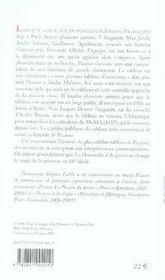 Les demoiselles d'avignon ; la révolution picasso - 4ème de couverture - Format classique