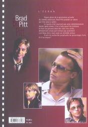 Brad Pitt - 4ème de couverture - Format classique