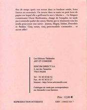 Parfum et suspicions - 4ème de couverture - Format classique