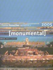 MONUMENTAL ; dossier Versailles (édition 2005) - Intérieur - Format classique